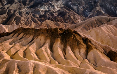 Photo of Zabriskie Point at Sunset, Death Valley, California