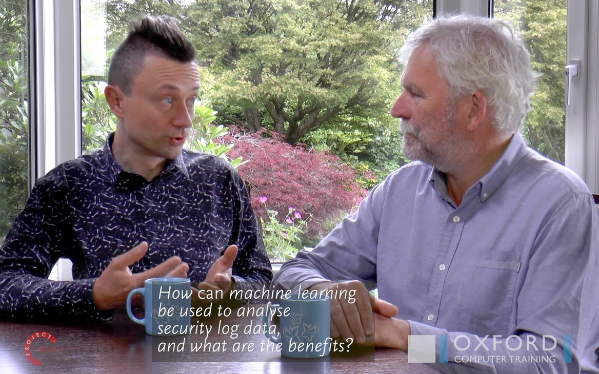 Hugh Simpson-Wells Interviews Rafal Lukawiecki about Machine Learning for Security Applications