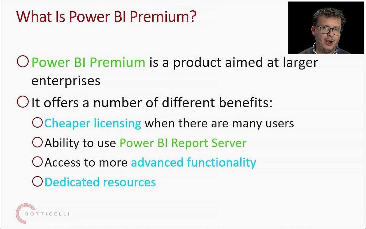 Power BI Premium and Embedded