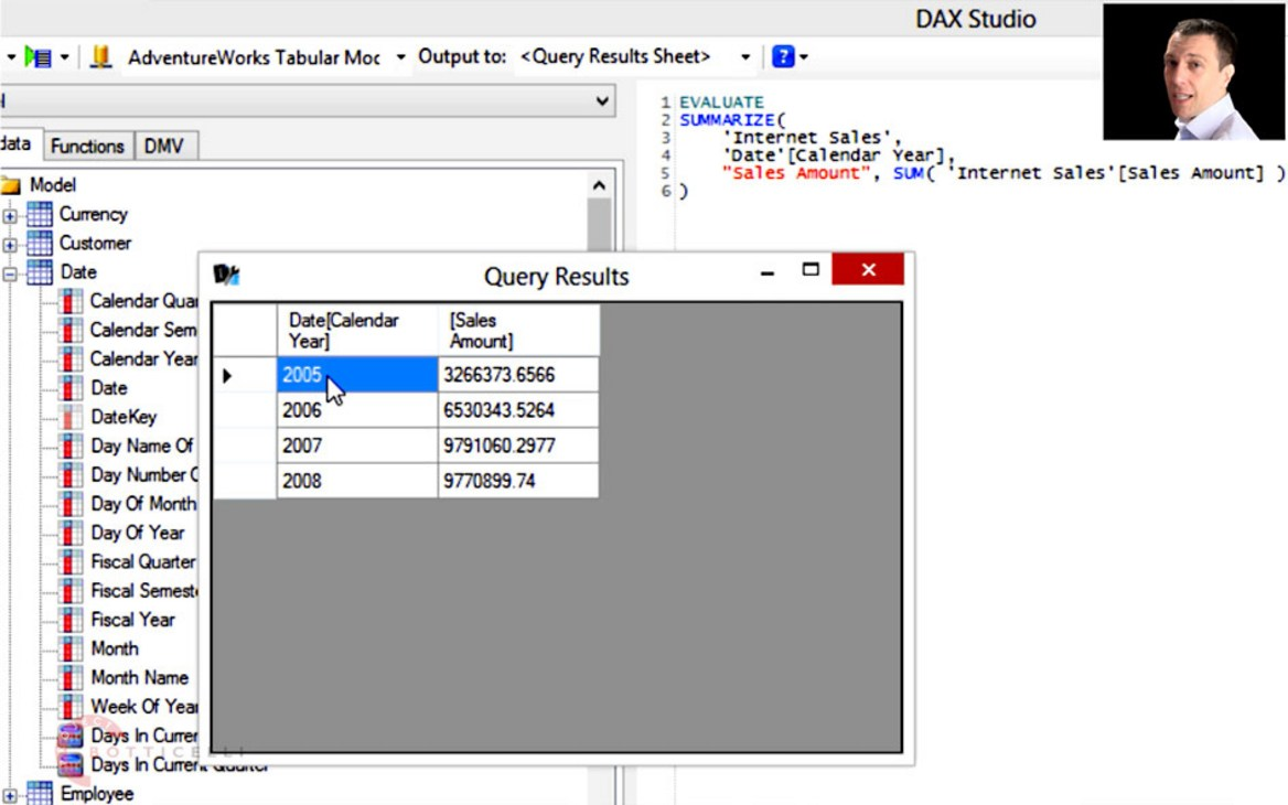 Querying with Data Analysis Expressions using DAX Studio by Marco Russo