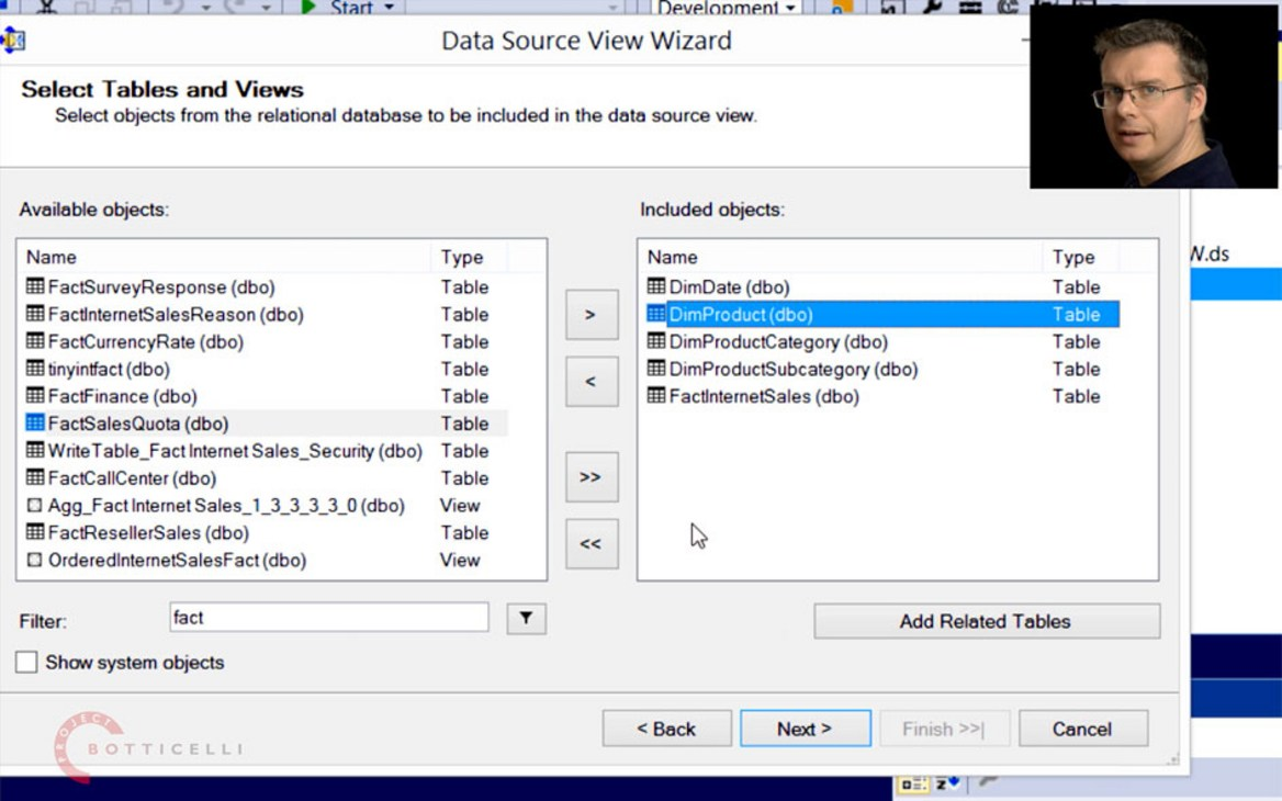 Chris Webb Explains the Data Source Wizard in SSDT-BI