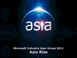 Asia Rise Industry User Group Summit 2011 Logo