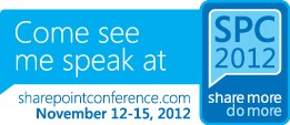 SharePoint Conference 2012 Logo